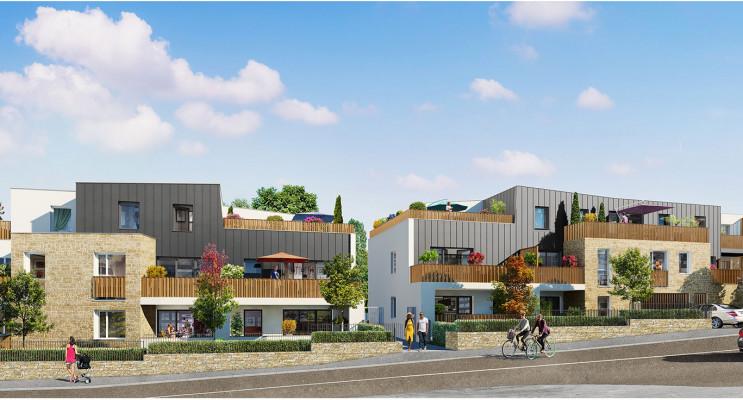 Saint-Herblain programme immobilier neuf « Carré de Flore » en Loi Pinel