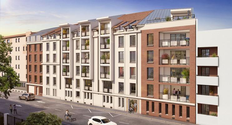 Nancy programme immobilier neuf « Les Deux Rives » en Loi Pinel