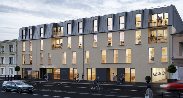Cherbourg-Octeville programme immobilier neuf « Passage Emery »