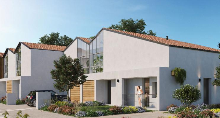 Mérignac programme immobilier neuf « Les Ateliers d'Iris