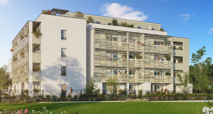 Collonges-sous-Salève programme immobilier neuf « Les Balcons de Genève » en Loi Pinel