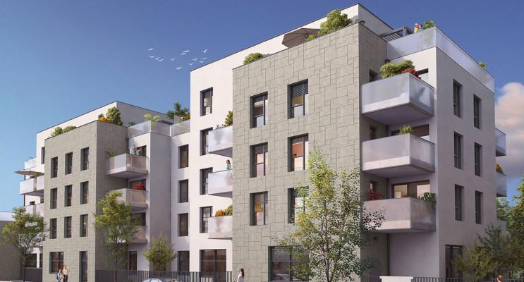 Lyon programme immobilier neuf « Esprit Lumière » en Loi Pinel