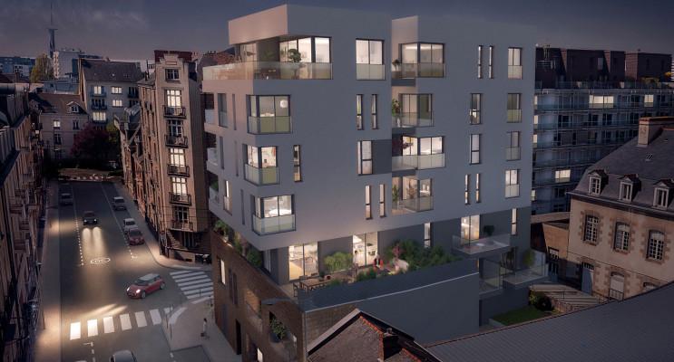 Rennes programme immobilier neuf « Le Gabriel » en Loi Pinel