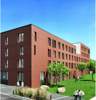 Roubaix programme immobilier neuf « Stud'Campus »