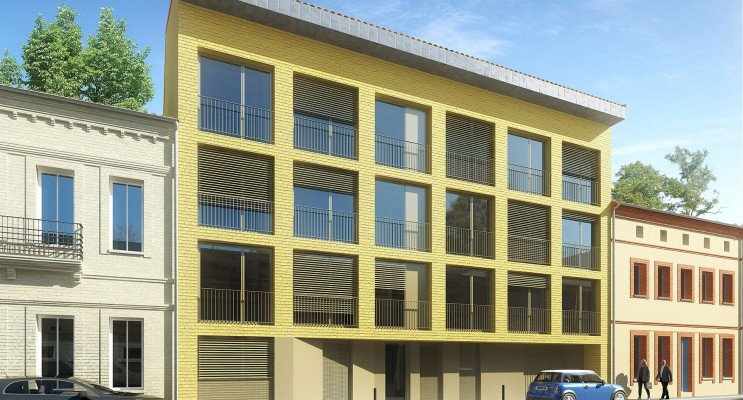 Toulouse programme immobilier neuf « Le Constant » en Loi Pinel