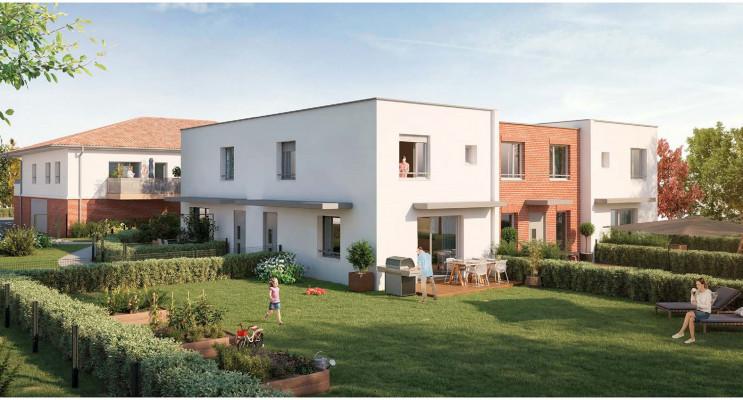 Toulouse programme immobilier neuf « Les Jardins d'Alexia » en Loi Pinel