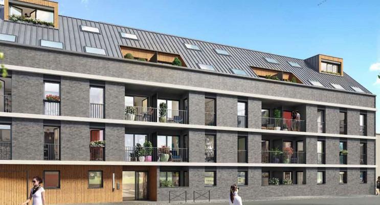 Rouen programme immobilier neuf « L'Attik » en Loi Pinel