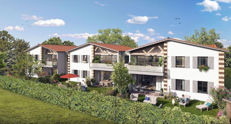 Parempuyre programme immobilier neuf « Le Clos Mademoiselle » en Loi Pinel