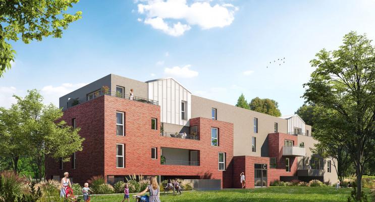 Seclin programme immobilier neuf « Le Riez » en Loi Pinel