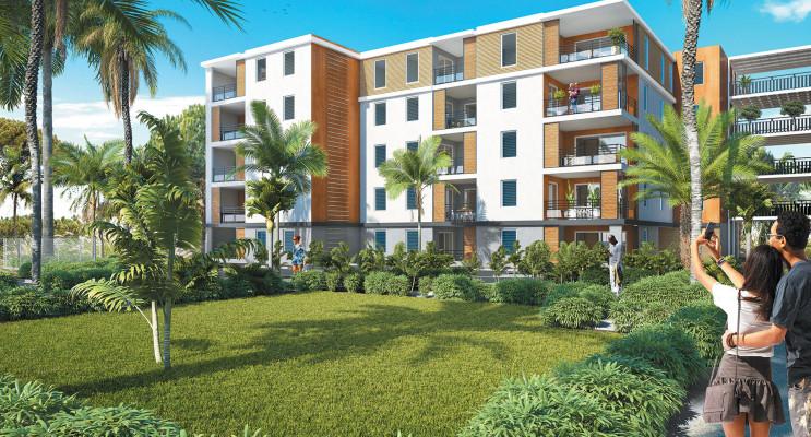 Abymes programme immobilier neuf « Les Trois Arts - Bât. A » en Loi Pinel