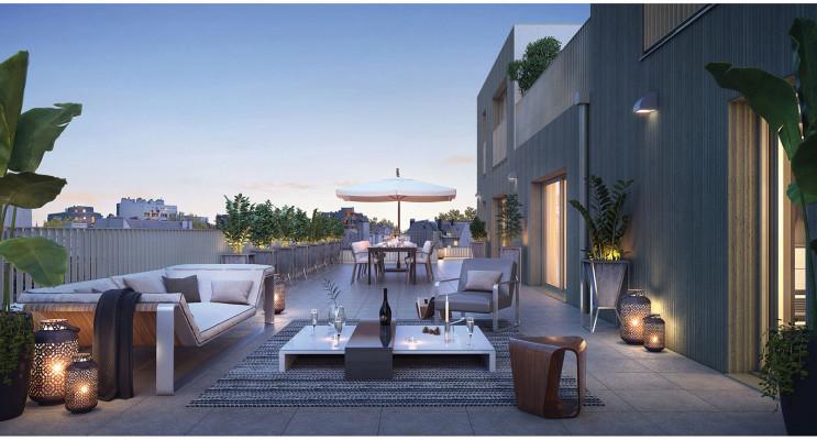 Rennes programme immobilier neuf « Vertygo