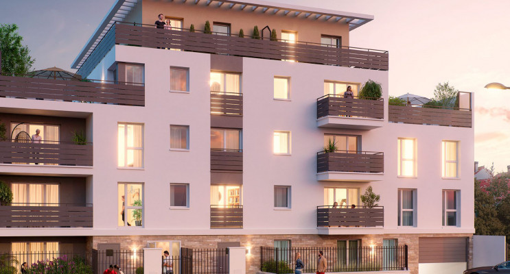 Montmagny programme immobilier neuf « Carré Pinson » en Loi Pinel