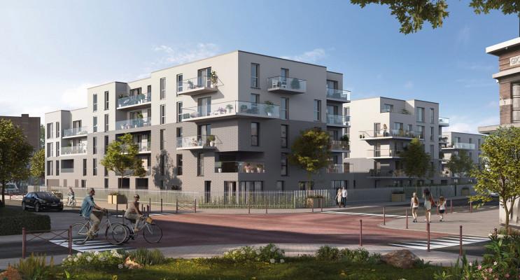 Mons-en-Barœul programme immobilier neuf « Axiome » en Loi Pinel
