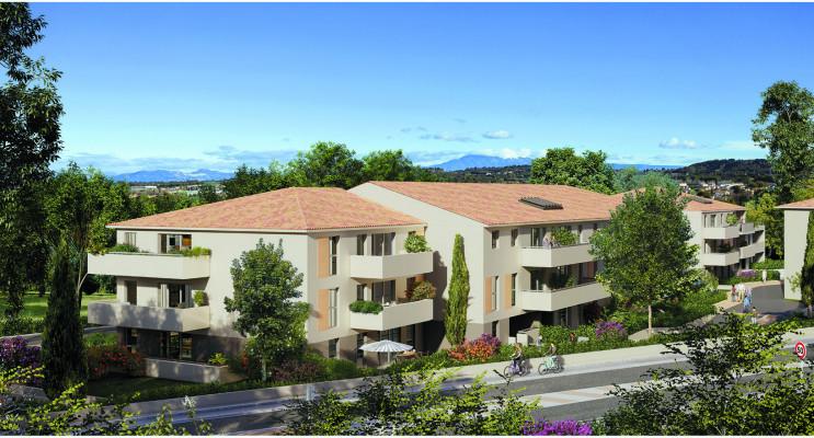 Morières-lès-Avignon programme immobilier neuf « Verdesco » en Loi Pinel