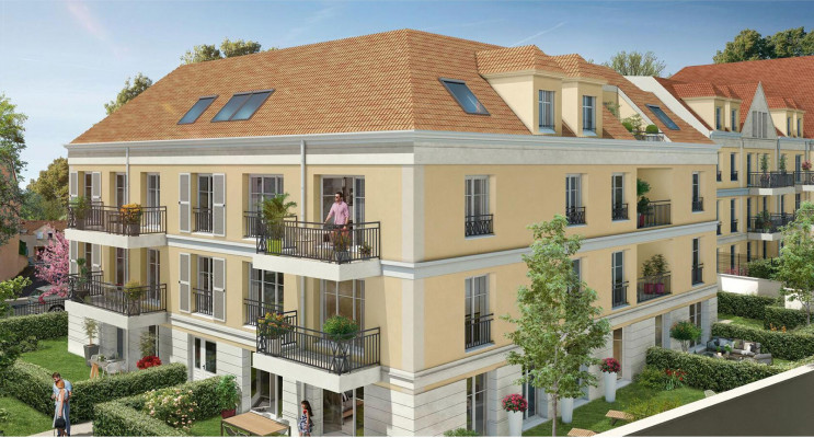 Plaisir programme immobilier neuf « Clos Hedonia