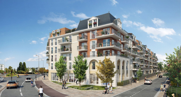 Chelles programme immobilier neuf « Faubourg Canal » en Loi Pinel