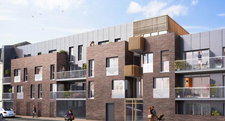 Le Havre programme immobilier neuf « Les Jardins des Docks » en Loi Pinel