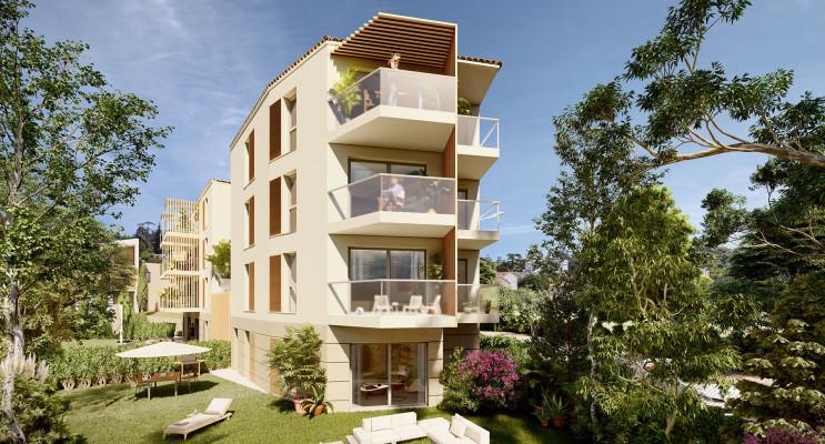Cannes programme immobilier neuf « Jacaranda » en Loi Pinel