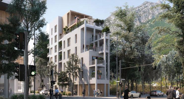 Grenoble programme immobilier neuf « Scala » en Loi Pinel