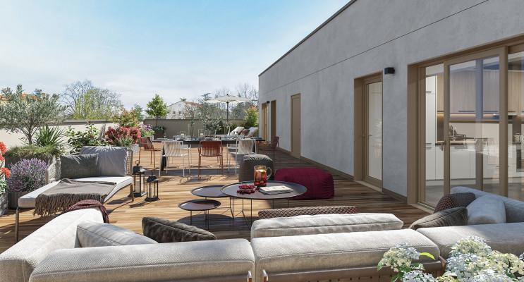 Sainte-Foy-lès-Lyon programme immobilier neuf « Esprit Domaine » en Loi Pinel