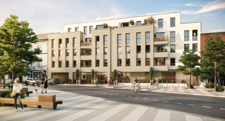 Lille programme immobilier neuf « Filbert » en Loi Pinel
