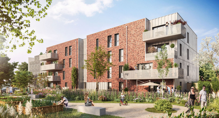 Faches-Thumesnil programme immobilier neuf « Azerty » en Loi Pinel