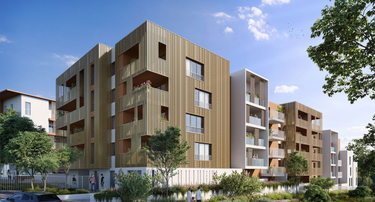 Montpellier programme immobilier neuf « Villa d'Ô » en Loi Pinel