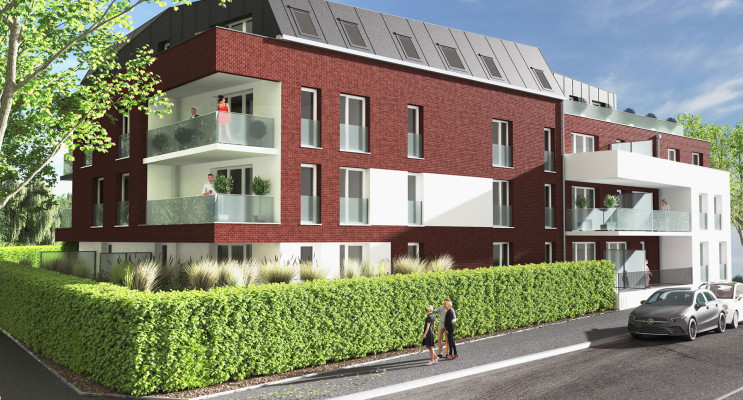 Croix programme immobilier neuf « Tempo » en Loi Pinel