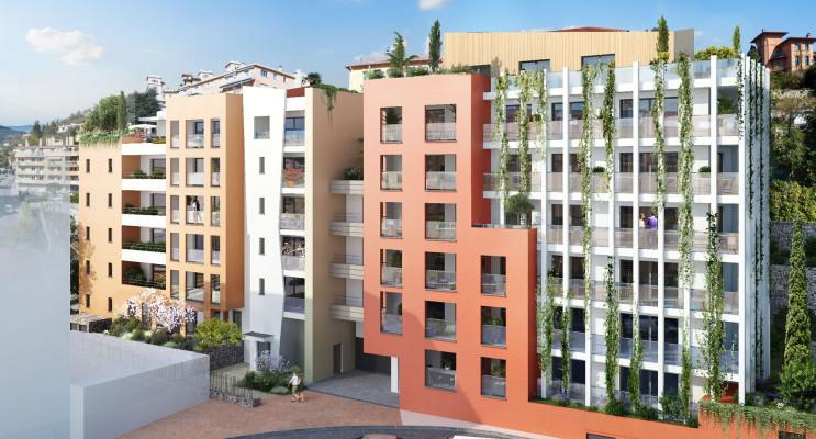 Menton programme immobilier neuf « Val D'or Nue Propriété