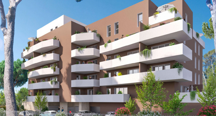 Nîmes programme immobilier neuf « Villa Esmée » en Loi Pinel