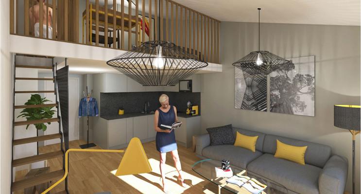 Nice programme immobilier neuf « 27 Lamartine Dernier Etage