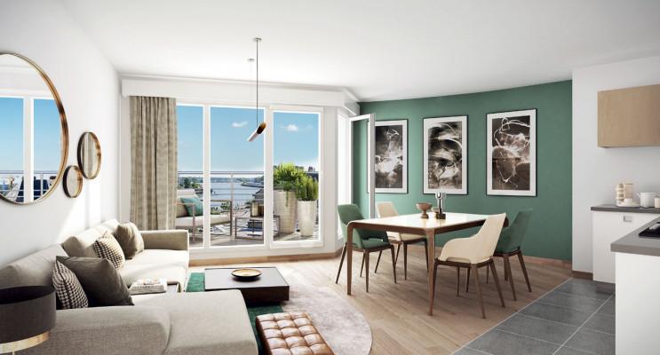 Nantes programme immobilier à rénover « Pavillon Cambronne » en Loi Malraux