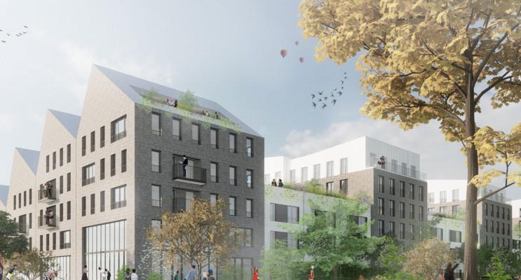 Villeneuve-d'Ascq programme immobilier neuf « Le Tweed » en Nue Propriété