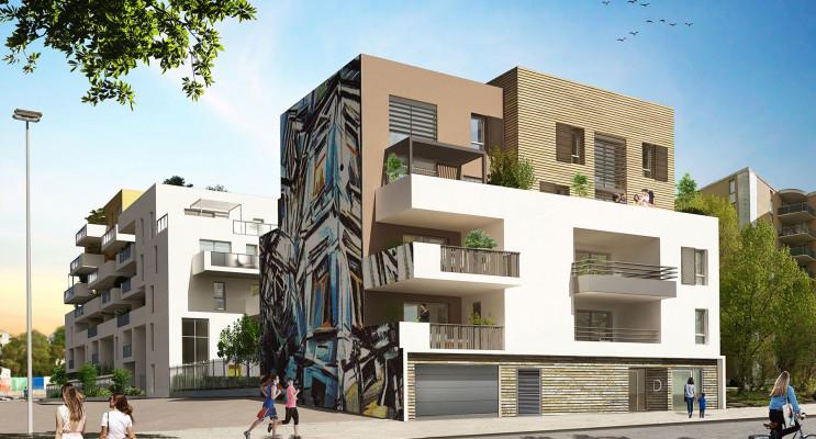 Montpellier programme immobilier neuf « Urban Essence - Bât. D