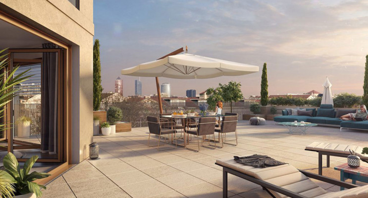 Lyon programme immobilier neuf « Arty » en Loi Pinel