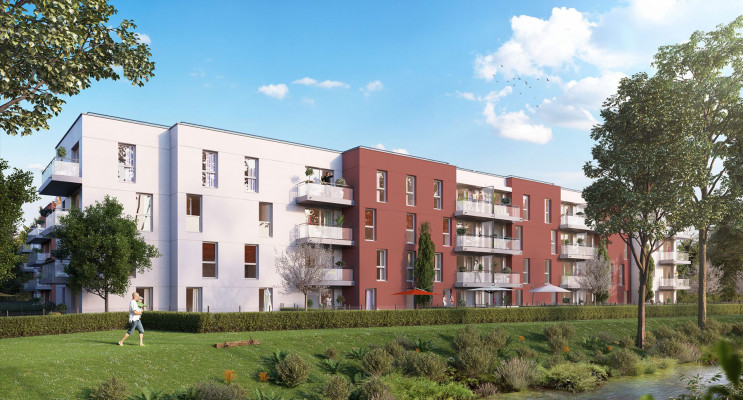 Gisors programme immobilier neuf « Les JArdins de Pissarro » en Loi Pinel