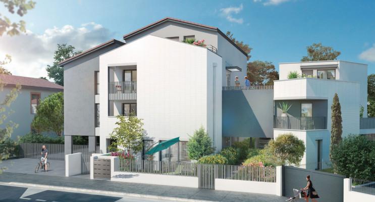 Toulouse programme immobilier neuf « Villa Mélia » en Loi Pinel