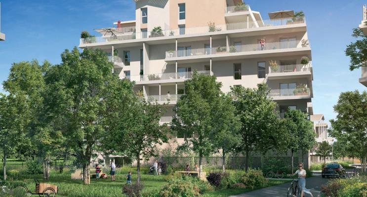 Toulouse programme immobilier neuf « Le Parc du Faubourg » en Loi Pinel