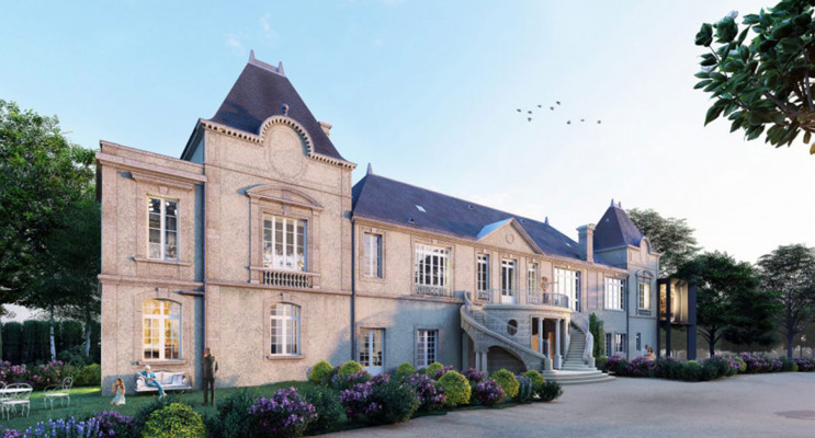 Sainte-Eulalie programme immobilier à rénover « Abbaye de Bonlieu Meludonoise » en Déficit Foncier