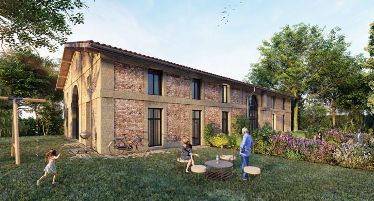 Sainte-Eulalie programme immobilier à rénover « Abbaye de Bonlieu DF/Pinel Mel » en Déficit Foncier