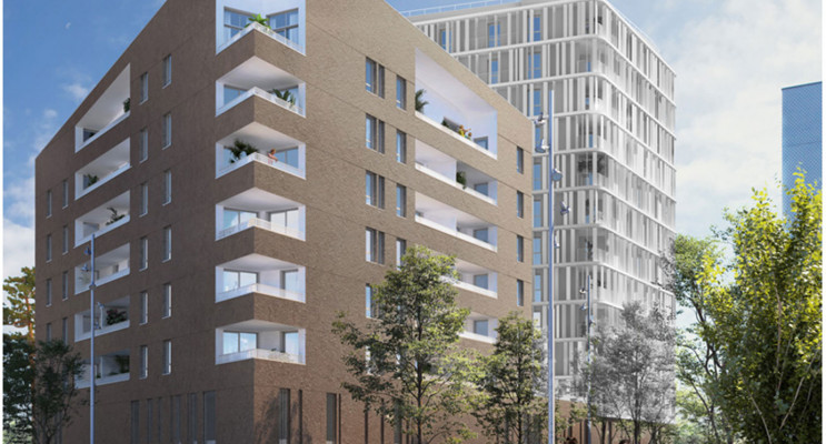 Brest programme immobilier neuf « Vertigo Coûts Abordables »