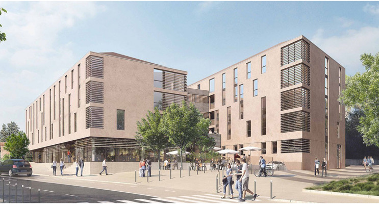 Aix-en-Provence programme immobilier neuf « Résidence Schuman »