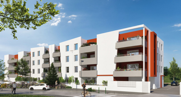 Perpignan programme immobilier neuf « Le Grenat » en Loi Pinel