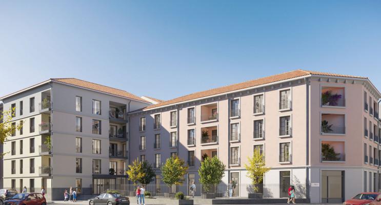 Valence programme immobilier neuf « Les Senioriales de Valence »