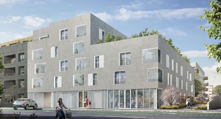 Nantes programme immobilier neuf « Les Jardins d'Antoine » en Loi Pinel