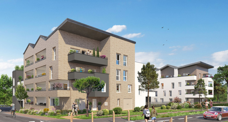 Amiens programme immobilier neuf « Unick