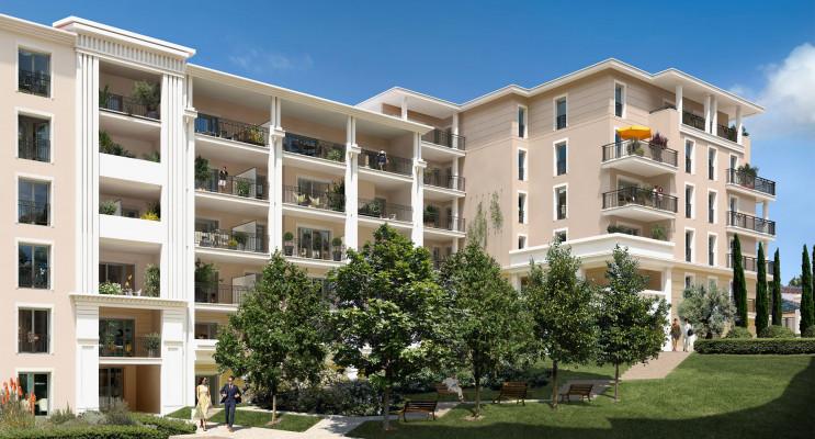 Aix-en-Provence programme immobilier neuf « Domaine du Parc Rambot » en Loi Pinel