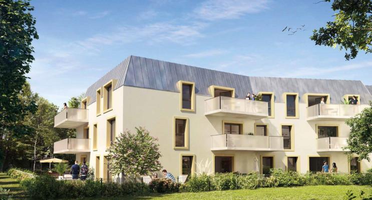 Dijon programme immobilier neuf « Fenêtre sur Parc » en Loi Pinel