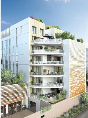 Nantes programme immobilier neuf « Côté Loire » en Loi Pinel