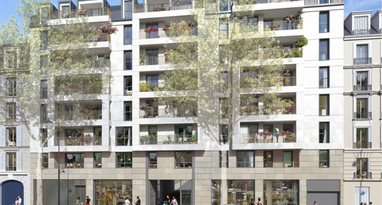 Clichy programme immobilier neuf « Privilèges » en Loi Pinel
